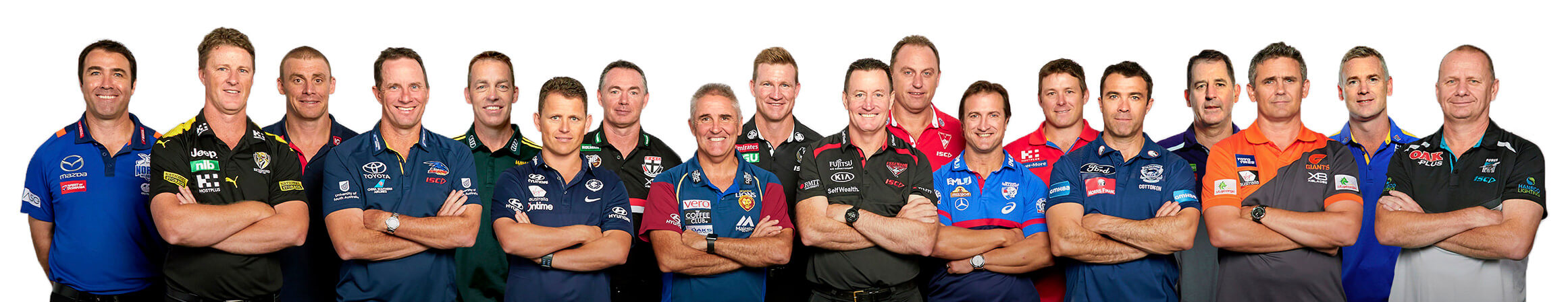 AFL Senior Coaches 2018